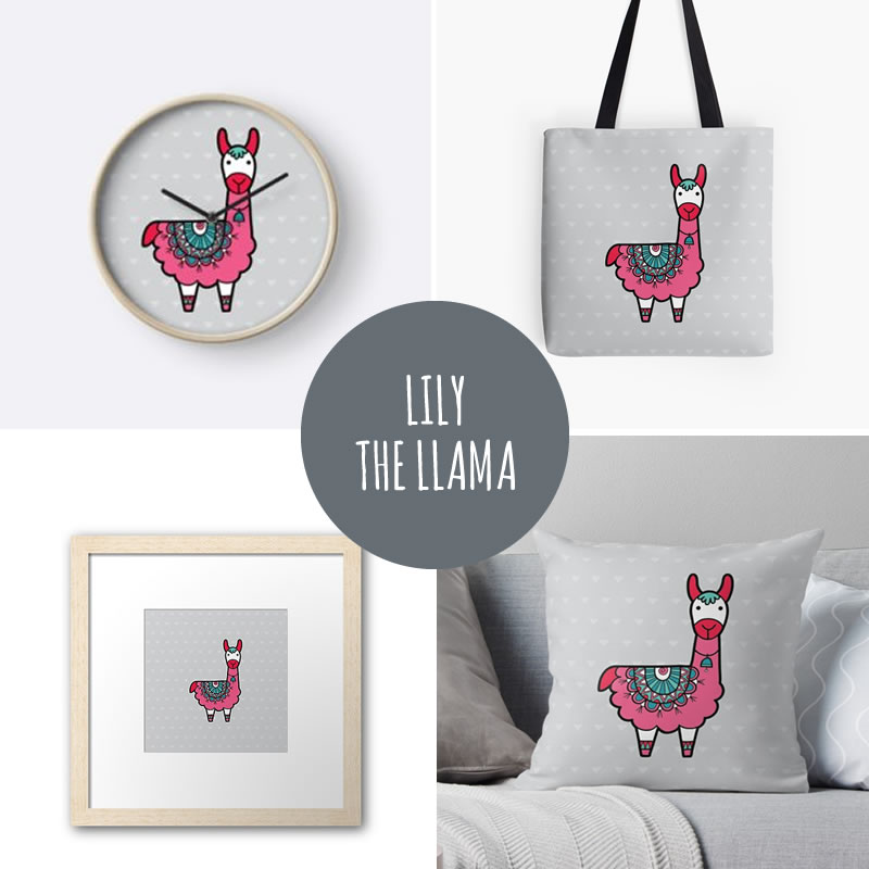 DIY lily the llama